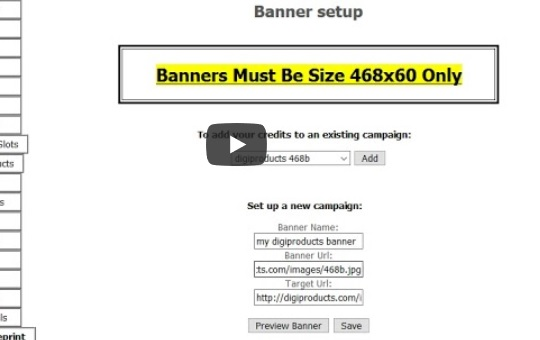 How to Set Up a Banner Ad